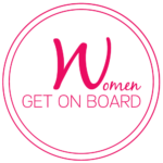 Women Get On Board Logo